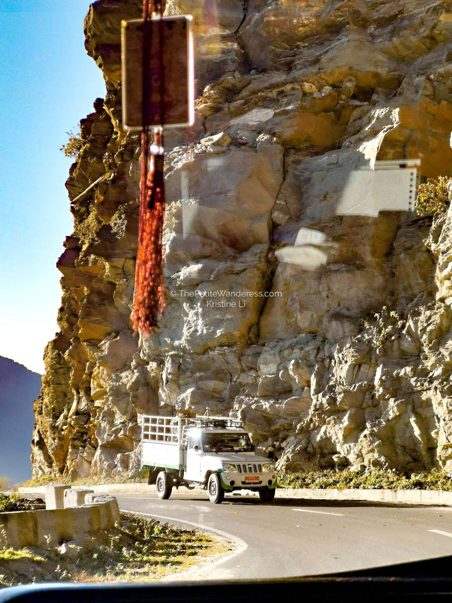 car journey from Trongsa to Paro | What Makes Neykor Meditation Trip in Bhutan Special •The Petite Wanderess