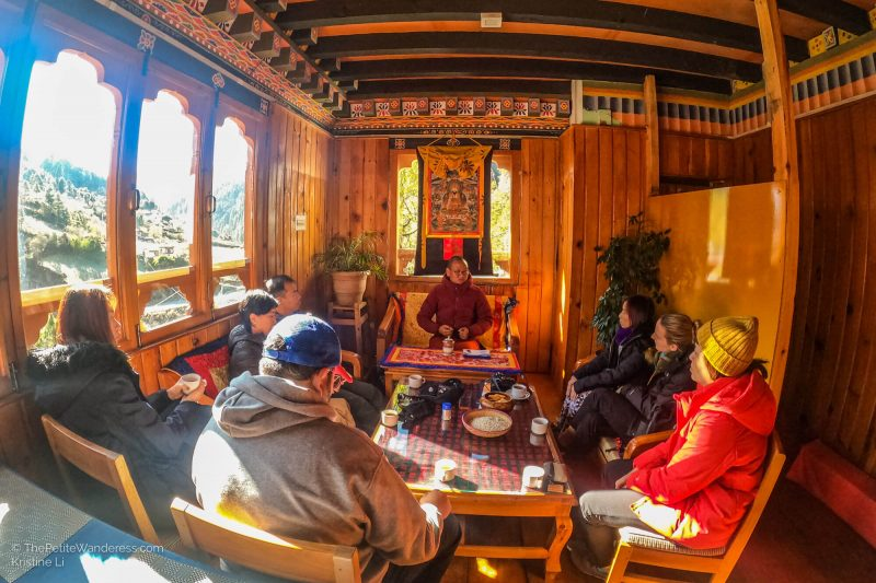 sharing session | What Makes Neykor Meditation Trip in Bhutan Special •The Petite Wanderess