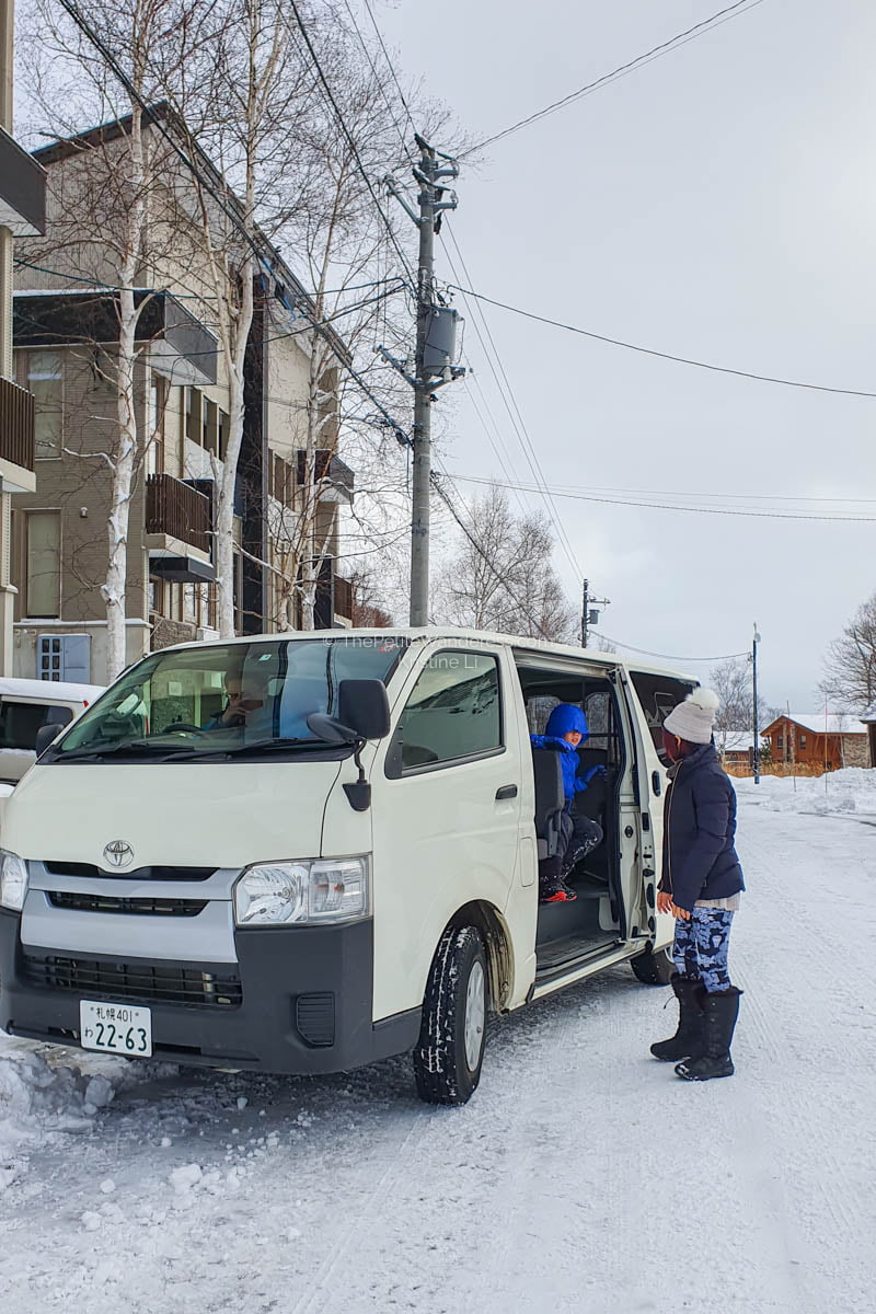 rented van | What to Know for Your Niseko Ski Trip • The Petite Wanderess