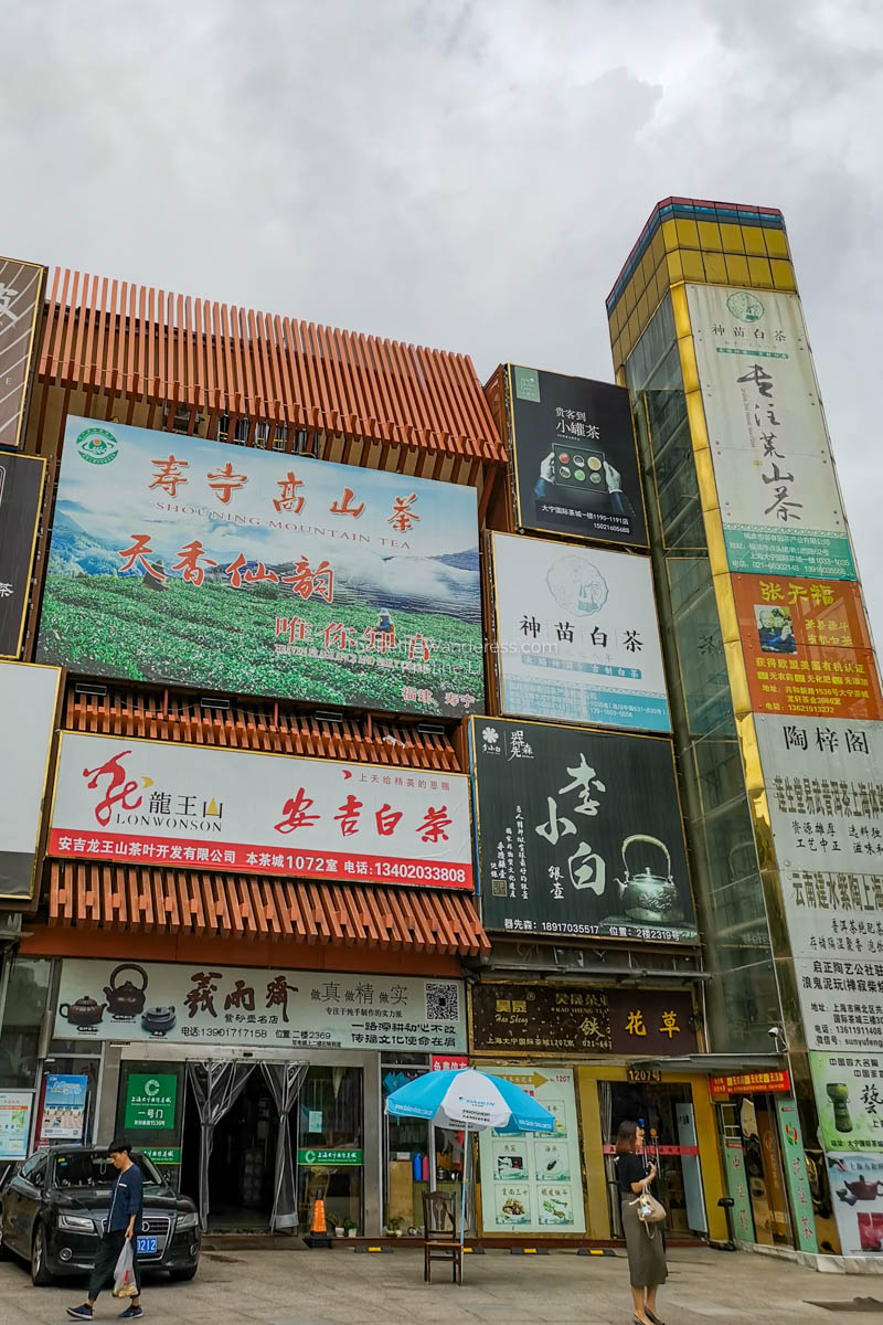 unassuming tea building | First Time in Shanghai •The Petite Wanderess